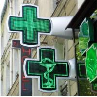 Wholesale China RF/ Bluetooth controller P16 outdoor green pharmacy led signs cross from china suppliers