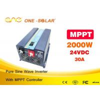 Wholesale Ce FCC  Pure Sine Wave 24 Volt To 120 Volt Inverter With MPPT Solar Controller  for Africa from china suppliers