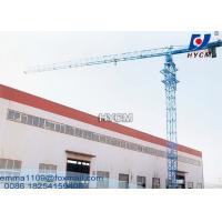 Wholesale QTZ100 PT6013 Flattop Tower Crane Tip load 1.3tons Max. Load 8tons from china suppliers