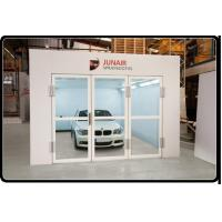 Quality professional powder coating production line/industrial spray booth for metal for sale