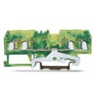 Buy cheap 4 Conductor Ground 600V 20A Spring Terminal Block with CE , CB , TUV from wholesalers