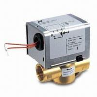 Wholesale Two-/Three-way Brass Motorized Valve with Stainless Steel Plate Actuator Material and from china suppliers