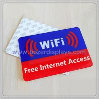 Wholesale Acrylic Free Wi-Fi Hotspot Signs from china suppliers