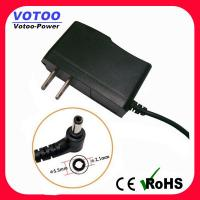 Wholesale Wall Plug AC DC Power Adapter 1A 110v - 220v Over Voltage Protection from china suppliers