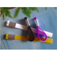 Wholesale silicone USB wristband keychain from china suppliers