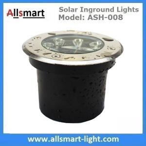 China Φ120x65mm Solar Paver Lights Solar Underground Lights Solar Brick Lights IP68 for Pathway Driveway Square Plaza on sale