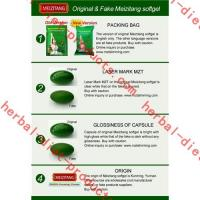 Quality Herbal Authentic Meizitang Botanical Slimming , Green 650mg Meizitang Body Diet Pills for sale