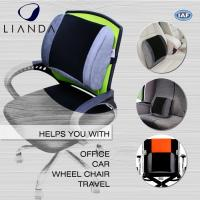 Wholesale Posture Corrector Alleviates Pain Back Support PU Waist Lumbar Support Cushion For Office Chair from china suppliers