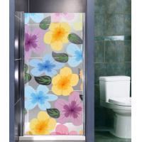 Wholesale 10mm Colored Glaze Tempered Glass Screen, Clear Bathroom Shower Enclosures Glass from china suppliers