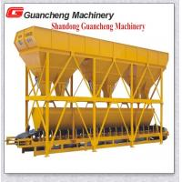 Wholesale Three Bins Concrete Batching Machine With 3 X 4000L Sand And Hopper Capacity from china suppliers