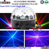 Wholesale LED Crystal Magic Ball Stage Lighting For Wedding Disco AC 90V-240V 50/60HZ from china suppliers