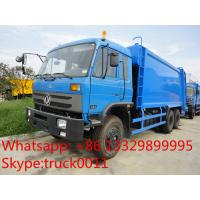 Wholesale hot sale good price dongfeng 6*4 18cbm garbage compactor truck, factory best price dongfeng 16m3 compacted garbage truck from china suppliers