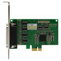 Wholesale Industrial PCI-E Serial Card with 4 RS-232 Serial Port from china suppliers