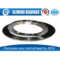 Wholesale Industrial Machinery Crane Slew Ring , Ball Bearing Slewing Ring With Rubber Seals from china suppliers