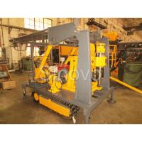 Buy cheap Sinovo Crawler Core Drilling Rig With Diesel Engine And Drilling Depth 180m from wholesalers
