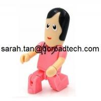 Wholesale Plastic Robot USB Flash Drives, Customized Figures Available from china suppliers