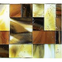 Wholesale Handmade Decorative Glass Tile With Color Flow for Wall Decoration from china suppliers