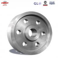 Wholesale Ship Crane Parts Cast Alloy Steel Pulley / Single Sheave Pulley OEM from china suppliers