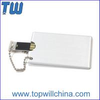 Wholesale Metal Card Size Usb Pendrive 8GB 16GB Memory Drive Excellent Price from china suppliers