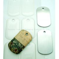 Wholesale 38.1x22.23mm Clear Epoxy Resin Stickers For Dog Tag from china suppliers