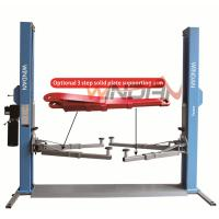 Buy cheap Base Plate Hydraulic Car Lift 2 Post Hydraulic Auto Lift Mechanical Lock  4T from wholesalers