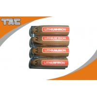 Wholesale LiFeS2 AAA 1100mAh Lithium Iron Battery , 1.5V from china suppliers