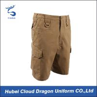 Wholesale Dark Khaki TC Summer Mens Tactical Cargo Shorts With Function Pocket from china suppliers