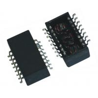 Wholesale 10 / 100 / 1000 Base - TX Single Port Surface Mount Lan Magnetics from china suppliers