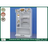 Buy cheap Customized Display Case Down Lighting High Grade Metal Display Cabinets from wholesalers