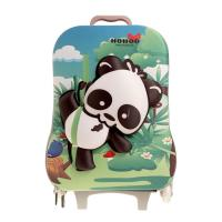 Wholesale Green Durable Kids Hard Case Luggage Rolling School Backpacks from china suppliers