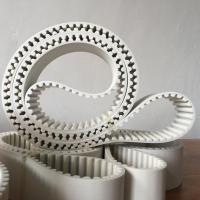 Wholesale HTD14M PU Material white seamless transmission belt from china suppliers