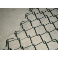Wholesale Commercial / Residential Vinyl Chain Link Fence 11Gauge 2 3 / 8'' from china suppliers