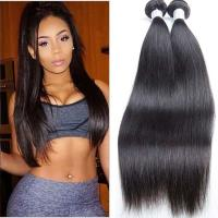 Wholesale Unprocessed  Silky Straight Peruvian Human Hair Weave No Terrible Smell from china suppliers