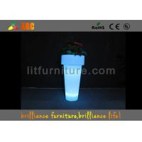 Wholesale Environmentally friendly PE material LED Flower Pot for decorations from china suppliers