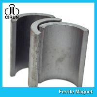Industrial Ferrite Arc Magnet For Treadmill Motor / Water Pumps / Dc Motor