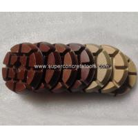Wholesale Brown Concrete Polishing Resin Diamonds from china suppliers