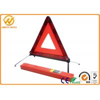 Wholesale Portable ABS PMMA Safety Warning Highway Code Warning Triangle Reflective from china suppliers