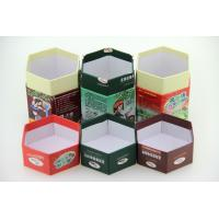 Quality Tea Paper Cans Packaging Hexagon Shape Paper Cans. for sale