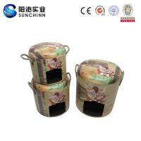 Quality PU Leature Printing Wooden Furniture/Stool/Round Stool/Chair/Home Accents/Dog House/Dog Kennel for sale