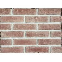 Quality 3D Brick Veneer , Indoor Brick Wall Tiles For Hospital / University with very antique type shape for sale