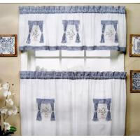 Wholesale 80 GSM Different Color Kitchen Window Curtain , Polyester Window Curtains from china suppliers