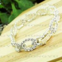 Wholesale Fashion Jewelry Alloy with Crystal Bangle/Bracelet Ljh0032 from china suppliers