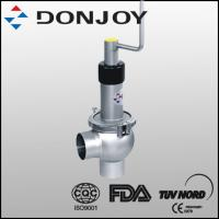 Wholesale 1 Inch SS 316L Sanitary Manual Regulating Single  Seat Valve with Welding Ends from china suppliers