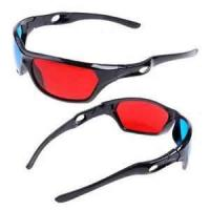 Black Frame Glasses For Babies : universal Black Frame Anaglyphic Red Cyan prescription ...