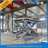 Wholesale Stationary Scissor Lift Platforms Hydraulic Lifting Equipment 5T 1.5m from china suppliers