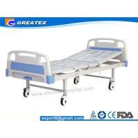 Wholesale Multifunction Manual Hospital Bed , One Crank hospital bed for ICU Room and General Ward from china suppliers