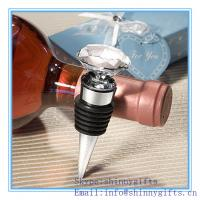 Wholesale CHOICE CRYSTAL DIAMOND DESIGN BOTTLE STOPPER from china suppliers