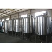 Quality 1000L food grade stainless steel fermentation tanks mirror polished for beer brewing in hotel and brewery for sale