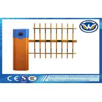Wholesale Car Parking Vehicle Barrier Gate 6 second With Three  Fence Boom Length 6M from china suppliers