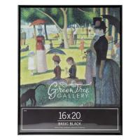 Wholesale 16 x 20 Basic Pure Black Wood Poster Frame / Concert , Movie Theater Poster Frames from china suppliers